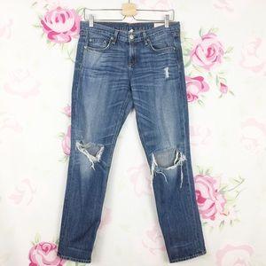 Rag & Bone Buckley Distressed Boyfriend Jeans